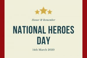 National Heroes Day 2020